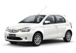 Toyota Etios Blanco Perlado