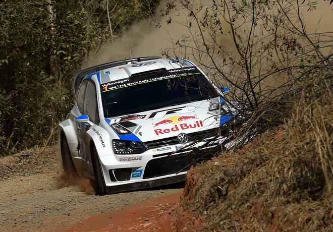 WRC - Australia 2014 - Dia 1 - Sebastien Ogier - VW Polo R