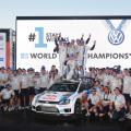 WRC - Australia 2014 - Final - Sebastien Ogier - VW Polo R