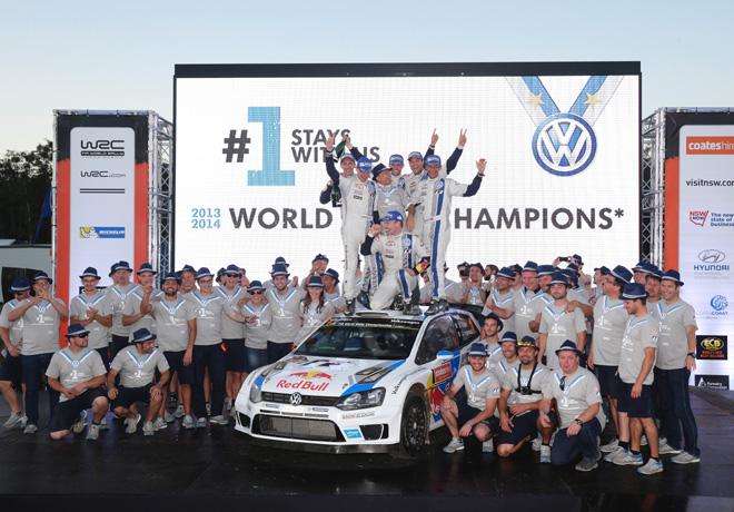 WRC en Australia – Final: Primer triplete de Volkswagen.