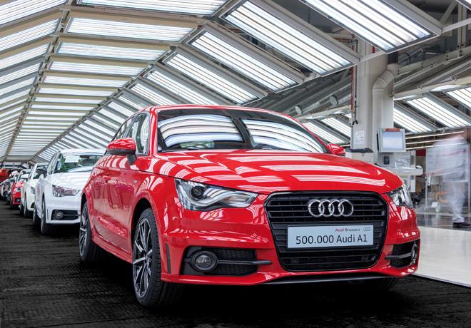 Audi celebra en Bruselas los 500.000 A1 producidos 1