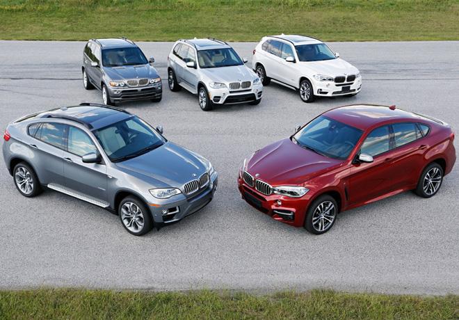 BMW celebra el 15 aniversario de la gama BMW X