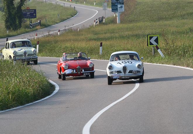 El RIAR festeja los 60 años de Alfa Romeo Giulietta 1