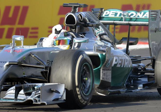 F1 - Rusia 2014 - Carrera - Lewis Hamilton - Mercedes GP