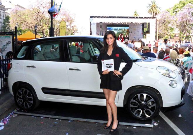 """Fiat estuvo presente en el evento """"Buenos Aires celebra Italia""""."""