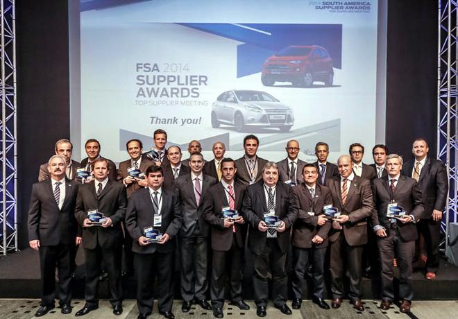 Ford - Premio Top Supplier 2014