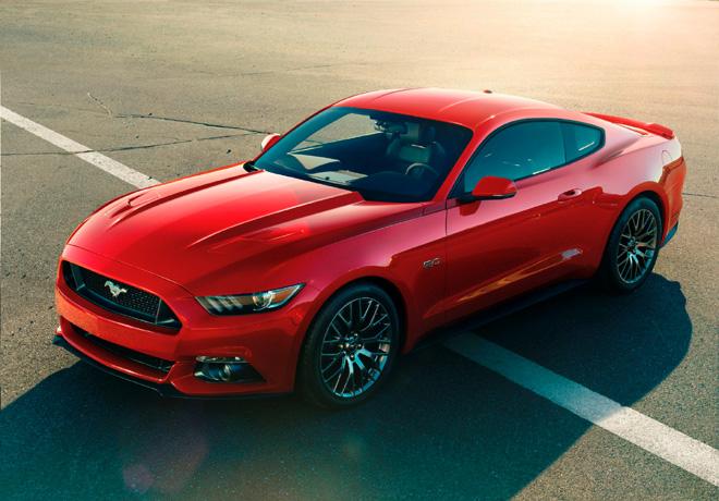 Ford presento el nuevo Mustang en California