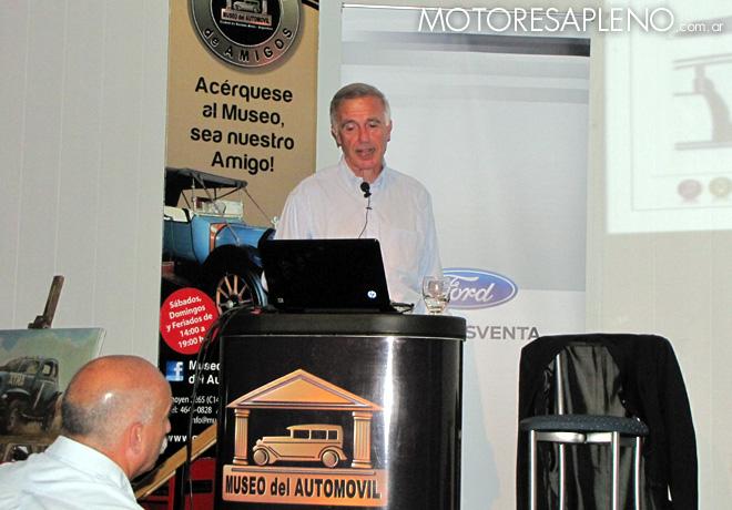 La Fundación del Museo del Automóvil llevó a cabo una charla sobre Seguridad Vial.
