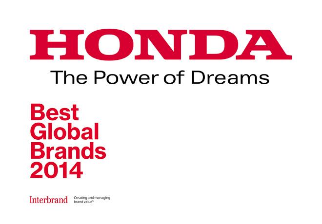 Honda - Best Global Brands 2014