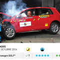 Latin NCAP - Resultados Fase V - VW Golf VII