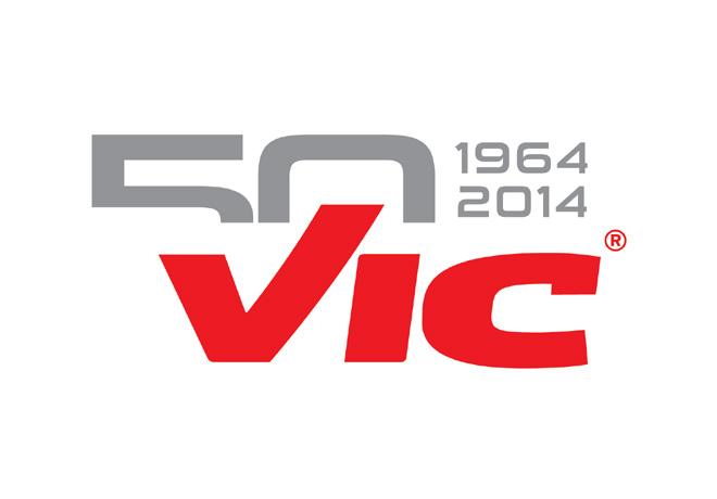 Logo Vic - 50 años