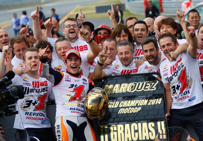 MotoGP - Motegi - Marc Marquez Campeon
