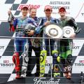 MotoGP - Phillip Island - Lorenzo - Rossi - Smith en el Podio