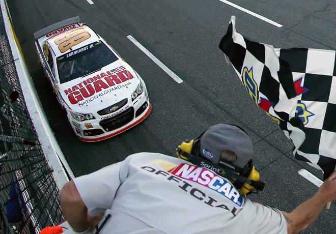 NASCAR - Martinsville - Dale Earnhardt Jr - Chevrolet SS
