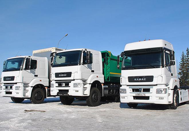 Podria comenzar el ensamblaje de camiones KAMAZ en la Argentina