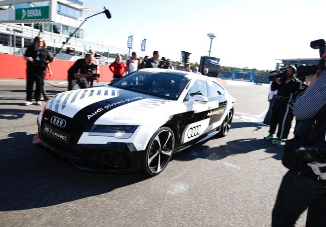Prueba superada Audi RS 7 Piloted Driving Concept 1