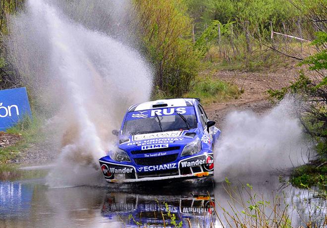Rally Argentino - Chubut - Etapa 1 - Marcos Ligato - Chevrolet Agile Maxi Rally