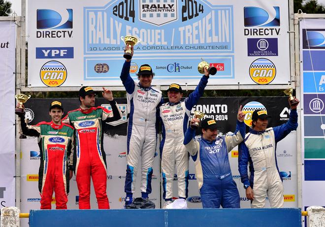 Rally Argentino - Chubut - Final - Podio