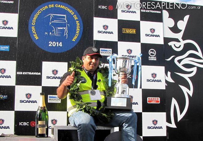 Scania - Final del certamen Mejor Conductor de Camiones de Argentina 2014 8