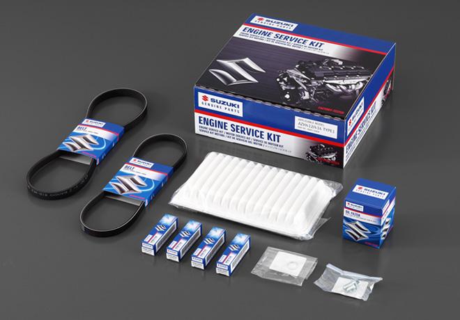 Suzuki lanza los Kits de repuestos para mantenimiento, a precios promocionales.
