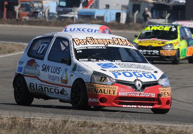 TN - Rio Gallegos 2014 - Clase 2 - Hanna Abdallah - Renault Clio