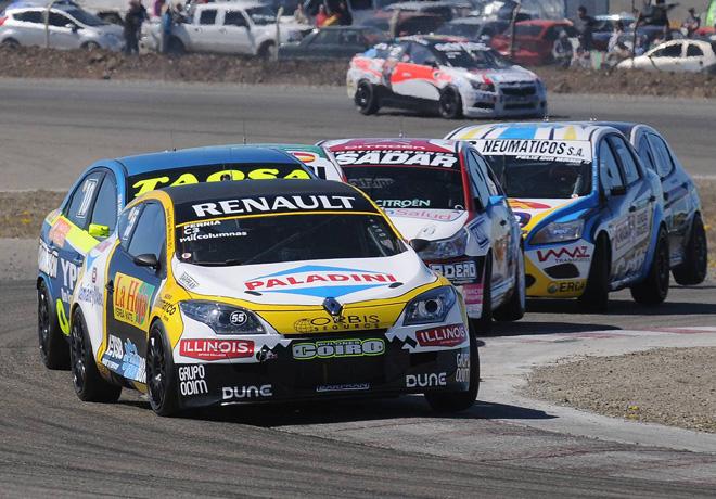 TN - Rio Gallegos 2014 - Clase 3 - Leonel Pernia - Renault Megane RS