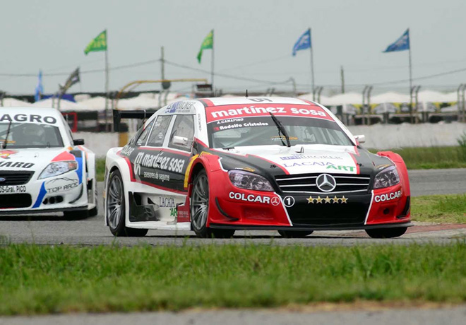 Top Race - Mar de Ajo 2014 - Agustin Canapino - Mercedes-Benz