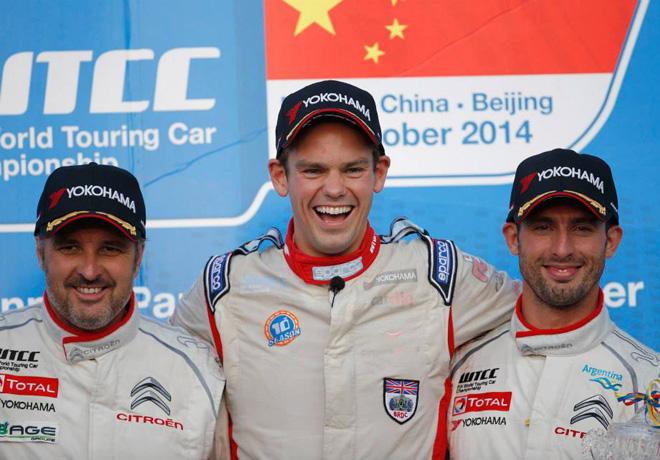 WTCC - Beijing - El Podio de la carrera 1