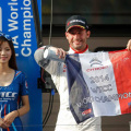WTCC - Shanghai - El Podio de la carrera 1 - Citroen Campeon de Constructores
