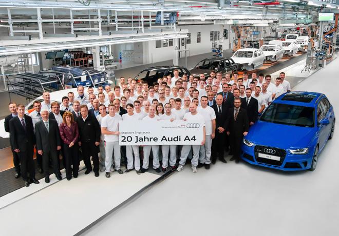 Audi - Veinte años del exitoso A4 1