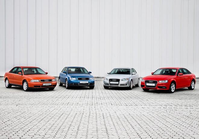 Audi - Veinte años del exitoso A4 2