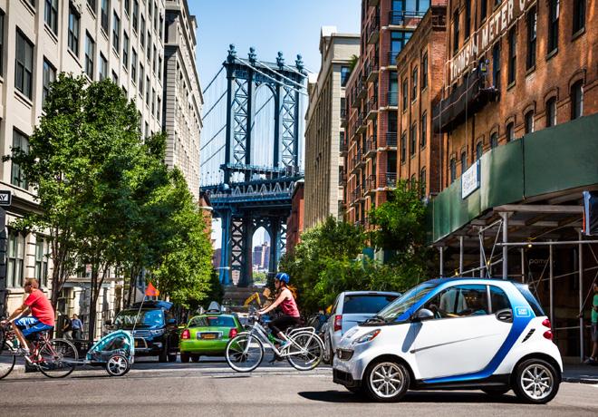 Car2go lanza su concepto movil en Brooklyn - Nueva York 1