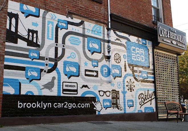 Car2go lanza su concepto movil en Brooklyn - Nueva York 2
