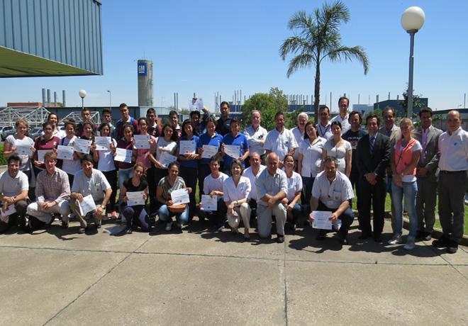 Cierre 2014 del Programa Empresarios del Futuro de GM Argentina
