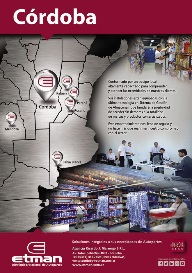 Etman - Cordoba - Sexto punto de venta