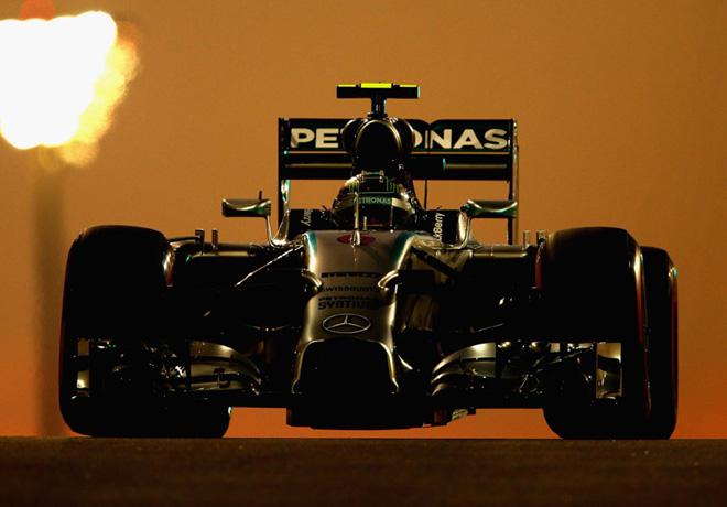 F1 - Abu Dhabi 2014 - Nico Rosberg - Mercedes GP
