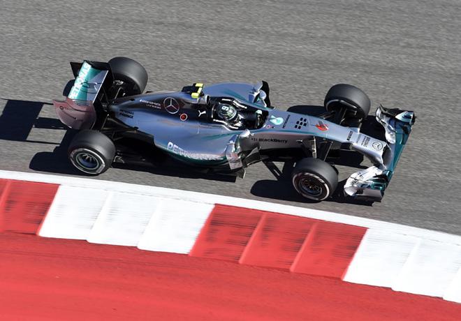 F1 - Estados Unidos 2014 - Nico Rosberg - Mercedes GP