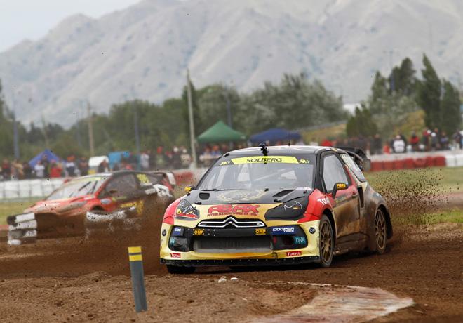 FIA World Rallycross Championship - Argentina - San Luis - Petter Solberg - Citroen DS3