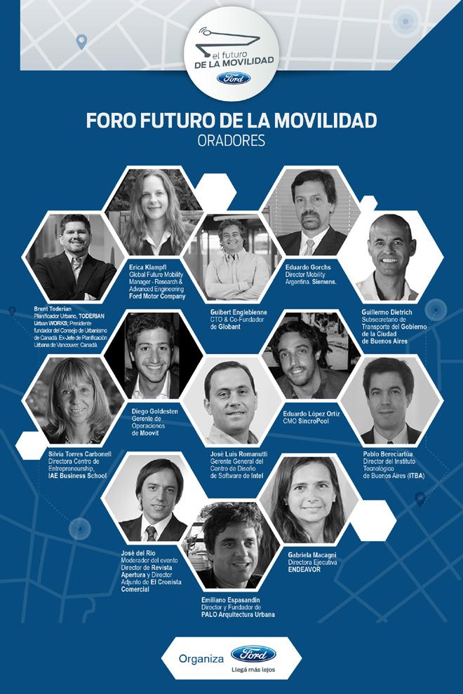 Ford - El Futuro de la Movilidad - Oradores