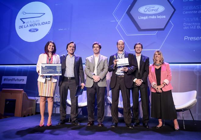 Ford - Gnadores del Concurso Futuro de la Movilidad - 1er puesto - Urban Shuttle