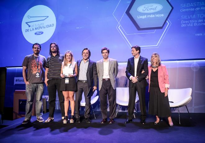 Ford - Gnadores del Concurso Futuro de la Movilidad - 3er puesto - Move to Win