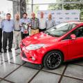 Ford premio con un Nuevo Focus a Hindu Club tras su octavo Campeonato