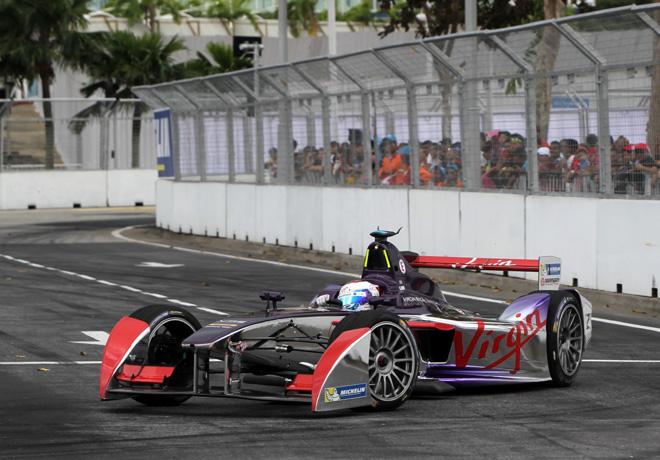 Formula E - Putrajaya - Malasia 2014 - Sam Bird - Virgin Racing
