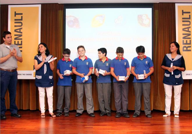 Fundacion Renault - Educacion Ambiental Para Todos - Santísima Trindidad - Ganadores