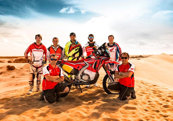 Honda South America Rally Team Dakar 2015 1