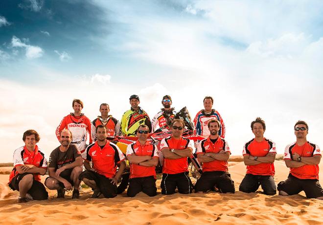 Honda South America Rally Team Dakar 2015 2