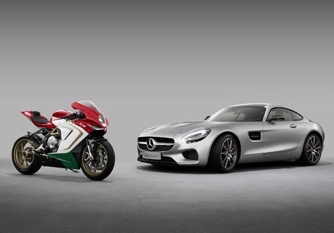 Mercedes-AMG anuncia la compra de parte de la empresa MV Agusta