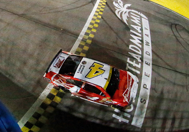 NASCAR - Homestead - Kevin Harvick - Chevrolet SS