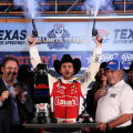 NASCAR - Texas - Jimmie Johnson en el Victory Lane
