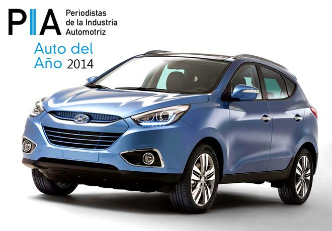 PIA - Auto del Año - Hyundai Tucson